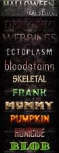 halloween photoshop styles for text effects psddude