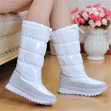 womens boots for winter 2017 2017 winter warm boots fashion platform fur cotton shoes