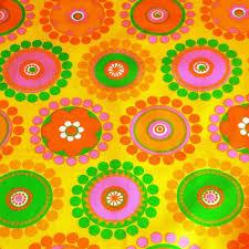 vintage 1960s scandi fabric textiles fabrics