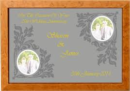 25th wedding anniversary gift gifts for 25th wedding anniversary for parents gift ideas