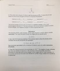 resonance worksheet the best and most comprehensive worksheets