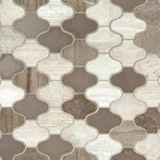 Unique Backsplash Tile Express Your Unique Style With New Arctic Storm Arabesque This