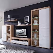 Wohnzimmerschrank Schwarz Wohnwand Schwarz Weiß Hochglanz Günstig Tv Mbel Wohnzimmer Weis