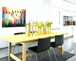 modern dining table centerpieces modern dining room centerpiece ideas cool dining table centerpieces