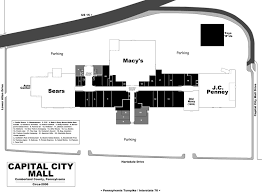 Garden State Plaza Floor Plan Mall Hall Of Fame July 2009