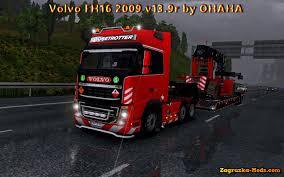 2009 volvo truck volvo fh16 2009 v13 9r by ohaha for ets 2 zagruzka mods com