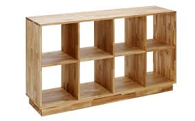 appealing solid wood bookcase rectangle shape cherry finish 9 open