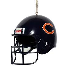 bears replica helmet ornament