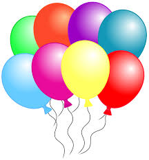 balloon clipart that can be downloaded individually and used alone