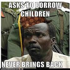 Kony Meme - scumbag kony
