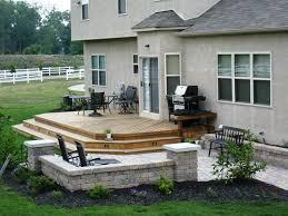 brilliant wood patio deck ideas 20 beautiful backyard wooden patio
