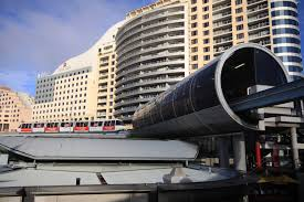 monorail darling harbour sydney wallpapers monorail departs harbourside station with one darling harbour in