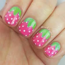 nails by jema strawberry nails for short nails nails