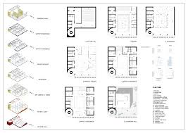lecture hall floor plan bangkok artists retreat competition winners