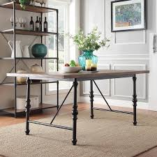 free dining table near me nelson industrial modern metal dining table by inspire q classic
