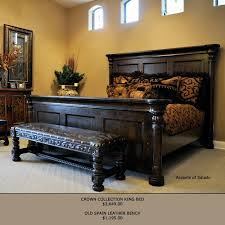 Crown Bedroom Furniture Crown Collection King Bed King Beds Crown And Bedrooms