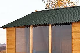 How To Re Roof A Shed With Onduline Corrugated Roofing Sheets by Shed Jargon Explained