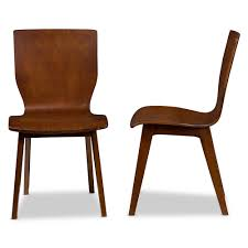 Dining Room Chairs Chicago Baxton Studio Elsa Mid Century Modern Scandinavian Style Dark