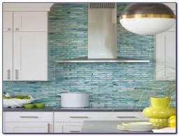 Blue Green Glass Tile Backsplash Tiles  Home Design Ideas - Teal glass tile backsplash