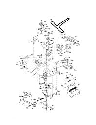 craftsman lawn tractor parts model 917273643 sears partsdirect