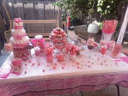 Candy Buffet For Parties by Baby Shower Buffet Table Decorations Baby Show Baby Showers