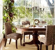 from pottery barn tivoli extending pedestal dining table pottery barn