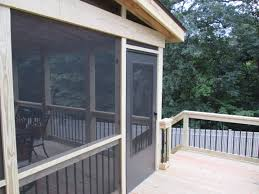 screened porch pressure treated lumber for decks or screened porches by archadeck
