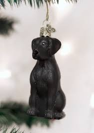 ornament black lab anns gifts houston