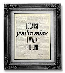 wedding quotes country johnny wall quote poster rustic country decor song