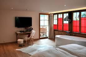 chambre baignoire balneo chambres d hôtel suisses à chéry en valais le beau séjour