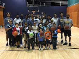 Lighthouse For The Blind Florida Student Athletes Help Blind Children Experience Basketball