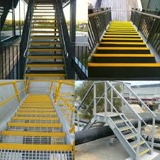 exterior non slip stair treads fiberglass on stairtread thin f