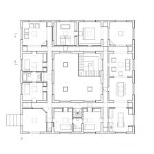 Concrete House Floor Plans This Fascinating Square Concrete House Sits On A Small Pedestal