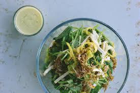 tofu herb mango salad with dijon mustard dressing recipe u2013 my