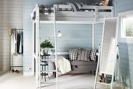 Ikea Loft Bed Review Cramped Bedroom Stora Loft Bed 520 350 Ikea Hampedia