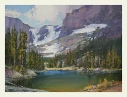 Mountain Landscape Paintings by West Creek Studio The Fine Art Of David W Mayer Paintings