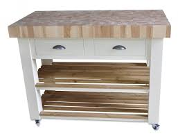butchers block kitchen island 120cm x 60cm end grain beech