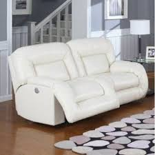 leather double recliner foter