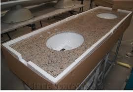 Vanity With Granite Countertop Giallo Bahia Granite Bathroom Vanity Tops Giallo Bahia Granite