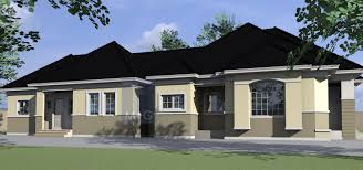 4 bedroom flat bungalow plan u2013 home ideas decor