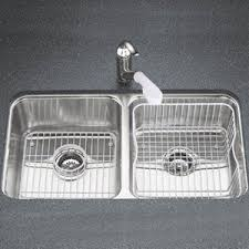 KNA Undertone Stainless Steel Undermount Double Bowl - Kohler double kitchen sink