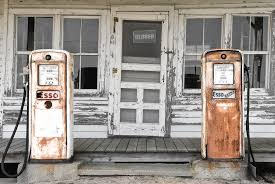 abandoned gas pumps at an old country store photograph by andrew