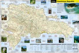 Show Me A Map Of The Dominican Republic Dominican Republic National Geographic Adventure Map National