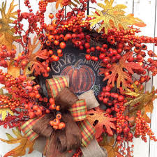 best thanksgiving wreath products on wanelo