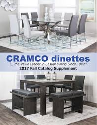 Dining Room Table Parts Cramco Dinettes