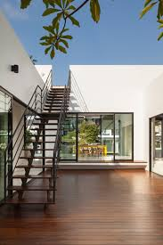 mandai courtyard house by atelier m a staircase new house