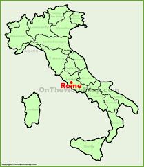 Map Rome Rome Location On The Italy Map