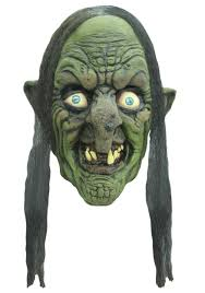 old lady halloween mask madame yidhra witch mask