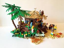 lego ideas tropical beach hut