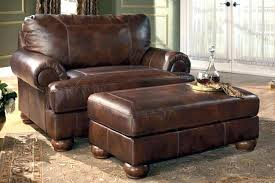 Chair And A Half With Ottoman Sale Ergonomic Leather Chair With Ottoman Ergonomic Leather Chair And A